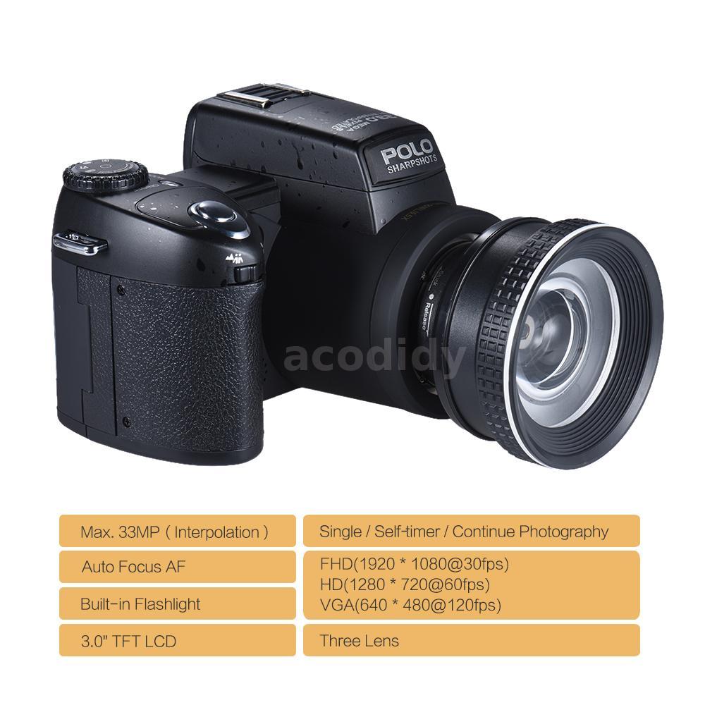 Oferta Cámara reflex POLO D7100 Ultra HD por 140 euros 1 oferta camara reflex polo